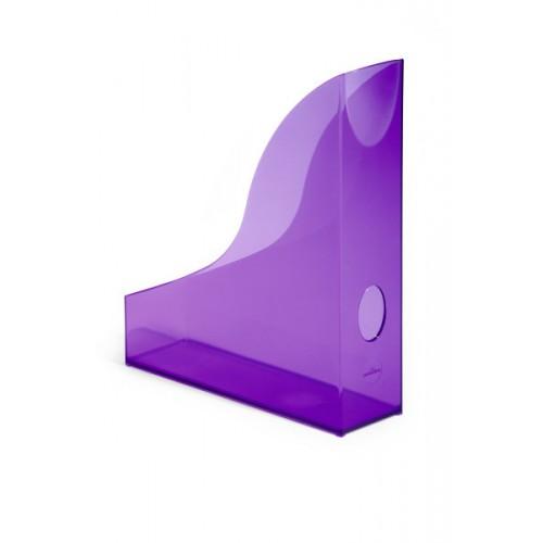 Лоток для бумаг вертикальный Durable Basic, прозрачный фиолетовый, арт.D1701712992