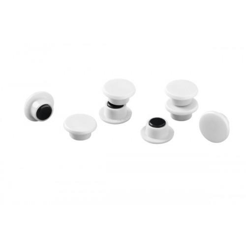 Магнит Durable с цветной шляпкой, 15 мм, белый , арт.D4751-02