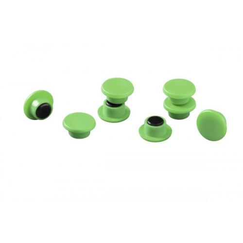 Магнит Durable с цветной шляпкой, 15 мм, зеленый, арт.D4751-05