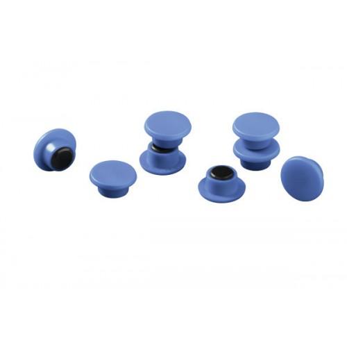 Магнит Durable с цветной шляпкой, 15 мм, синий, арт.D4751-06