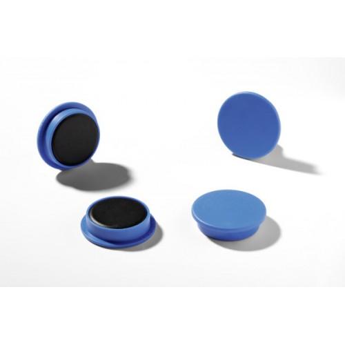 Магнит Durable с цветной шляпкой, 21 мм, синий, арт.D4752-06