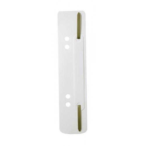 Механизм для скоросшивателя полоска Durable, 150х38 мм, белая, арт.D6901-02