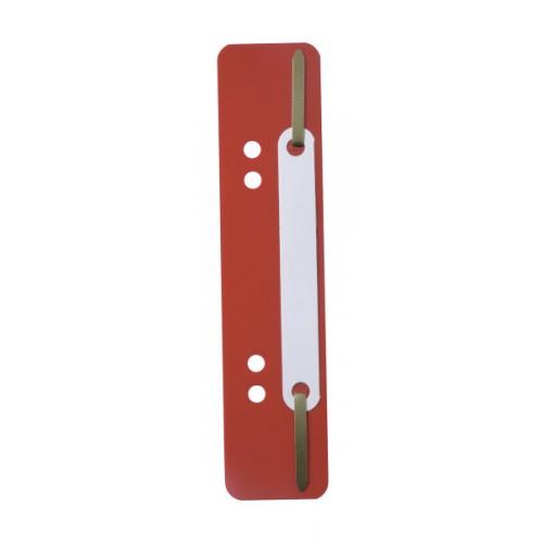 Механизм для скоросшивателя полоска Durable, 150х38 мм, красная, арт.D6901-03