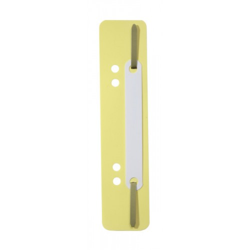Механизм для скоросшивателя полоска Durable, 150х38 мм, желтая, арт.D6901-04