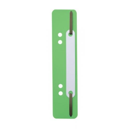 Механизм для скоросшивателя полоска Durable, 150х38 мм, зеленая, арт.D6901-05