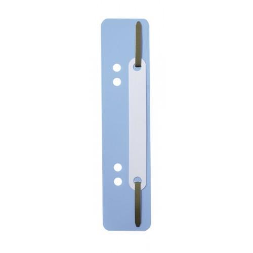 Механизм для скоросшивателя полоска Durable, 150х38 мм, голубая, арт.D6901-06