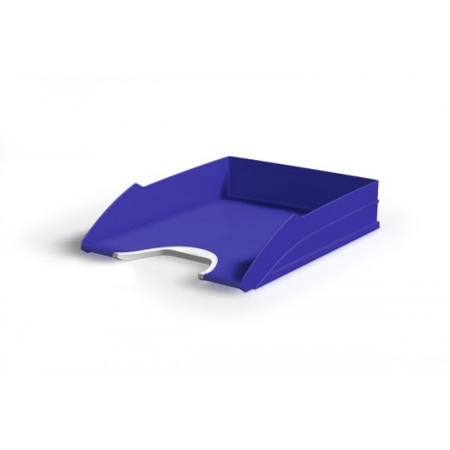Лоток для бумаг горизонтальный Durable Vegas, синий, арт.D7711-07