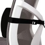 Подушка поясничная для офисного кресла Fellowes (Феллоуз) черная FS-80421