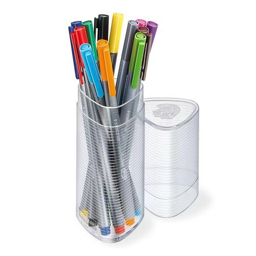 Набор капиллярных ручек Staedtler Triplus, 12 цветов, в пластиковом пенале, арт.ST334PR12