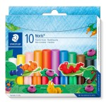 Набор пластилина Staedtler Noris Club, 10 цветов, картонная коробка, арт.ST8420C10