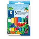 Набор пластилина Staedtler Noris Club, 6 цветов, картонная коробка, арт.ST8420C6