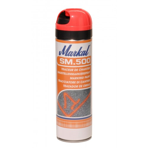 Аэрозольный маркер краска Markal (Маркал) SM500, жёлтый