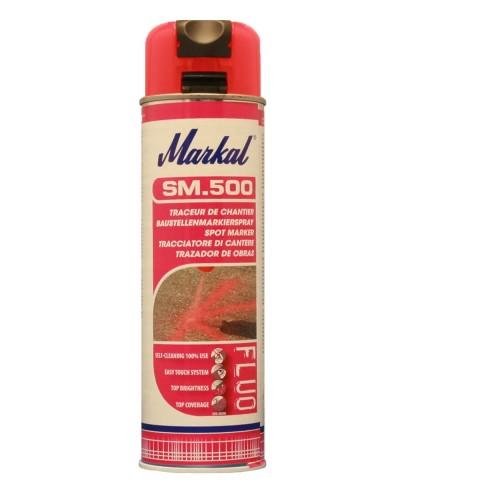 Аэрозольный маркер краска Markal (Маркал) SM500, красный