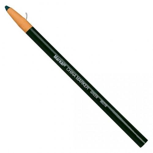 Маркер карандаш Markal (Маркал) China Marker, зелёный