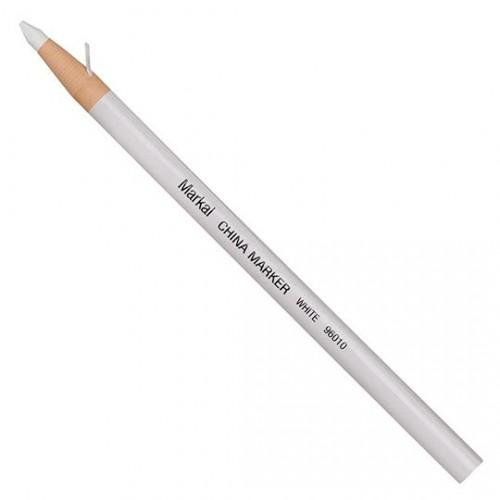 Маркер карандаш Markal (Маркал) China Marker, белый