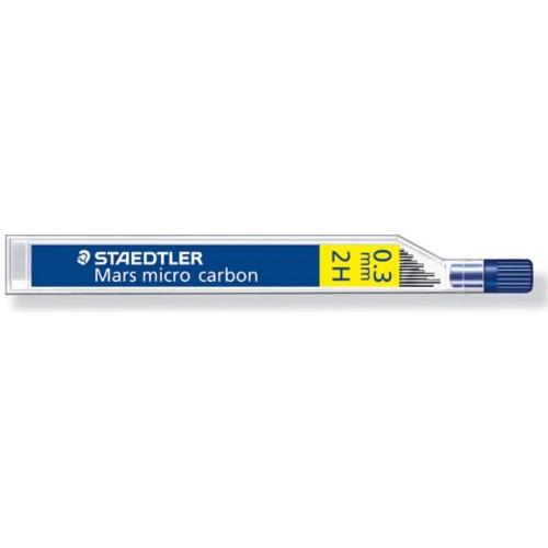 Грифель для автоматического карандаша Staedtler, 0,3 мм, 2H, арт.ST25003-2H