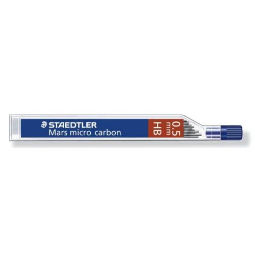 Грифель для автоматического карандаша Staedtler, 0,5 мм, HB, арт.ST25005-HB