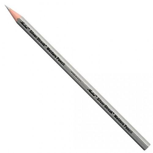 Маркер карандаш для сварочных работ Markal (Маркал) Silver-Streak, серебристый