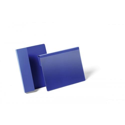 Карман для маркировки паллеты Durable, A5, горизонтальный, синий, арт.D1722-07