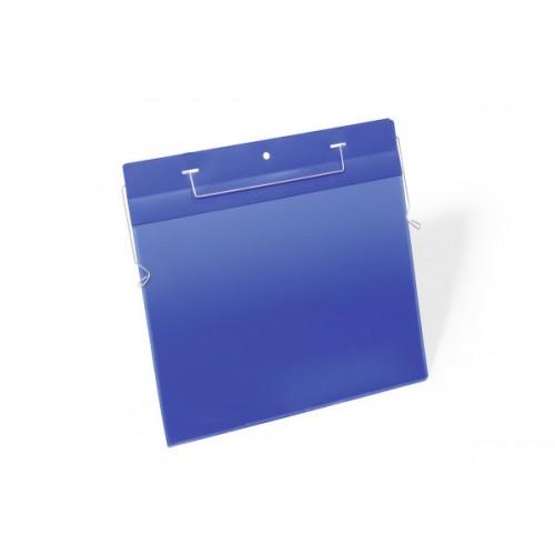 Карман для маркировки Durable, с проволочным фиксатором, А4 горизонтальный, арт.D1754-07
