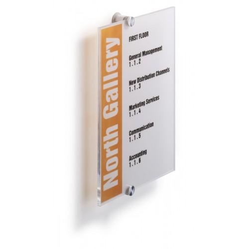 Информационная табличка настенная Durable, 210х297 мм, арт.D4825-19