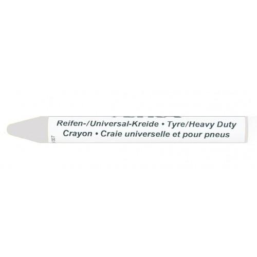 Мелок маркировочный профессиональный Lyra для резины и автопокрышек, 9,5 мл, белый, арт. L4940001