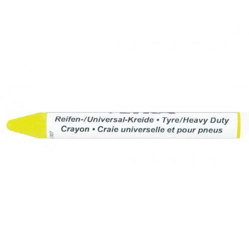 Мелок маркировочный профессиональный Lyra для резины и автопокрышек, 9,5 мл, жёлтый, арт. L4940007