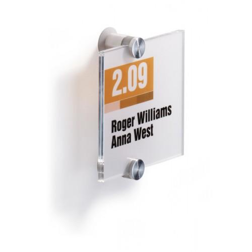Информационная табличка настенная Durable, 105х105 мм, арт.D4820-19