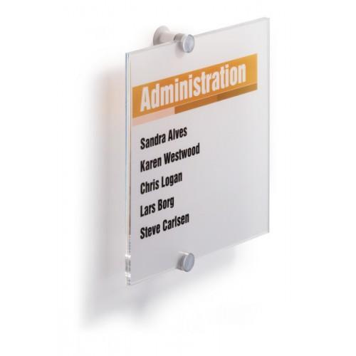 Информационная табличка настенная Durable, 210х210 мм, арт.D4824-19