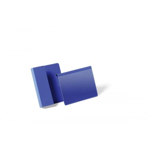 Карман для маркировки паллеты Durable, A6, горизонтальный, синий, арт.D1721-07