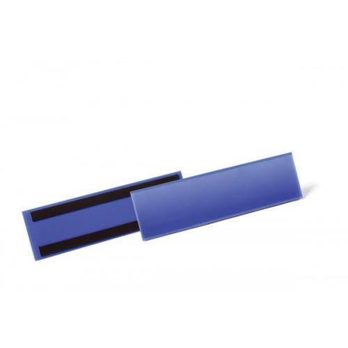 Карман для маркировки Durable, 1/3 А4, горизонтальный, синий, арт.D1758-07