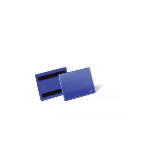 Карман для маркировки Durable, А6, горизонтальный, синий, арт.D1756-07
