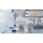 Маркер лабораторный Edding (Эддинг) 8014, для гладких и прозрачных поверхностей, 1 мм, чёрный 001