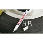 Маркер для шин и резины Edding (Эддинг) 8050, круглый наконечник, белый 049, блистер