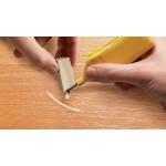 Воск для ремонта мебели Edding (Эддинг) 8902, ель-сосна 609, 3шт/уп, блистер, термо