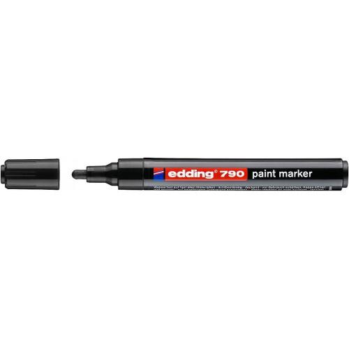 Маркер лаковый промышленный Edding (Эддинг) 790, круглый наконечник, 2-3 мм, черный 001