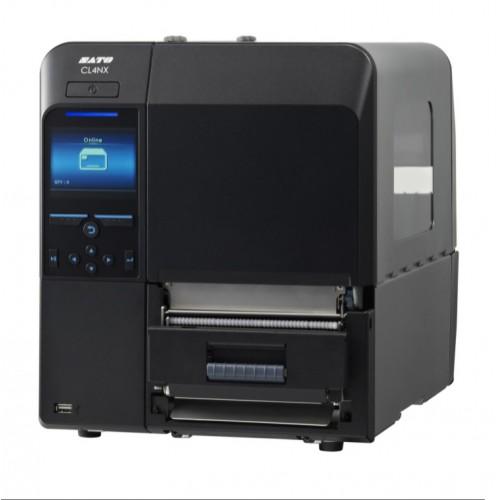 """Принтер этикеток термотрансферный """"Sato"""" CL4NX Plus 203 dpi с диспенсером и намотчиком подложки"""