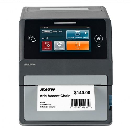 """Принтер этикеток термотрансферный """"Sato"""" CT408LX TT203 dpi, USB, LAN"""