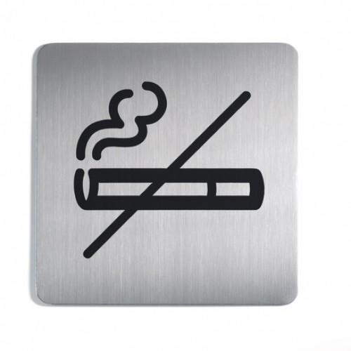 Пиктограмма Durable No Smoking, 150х150 мм, металл, арт.D4953-23