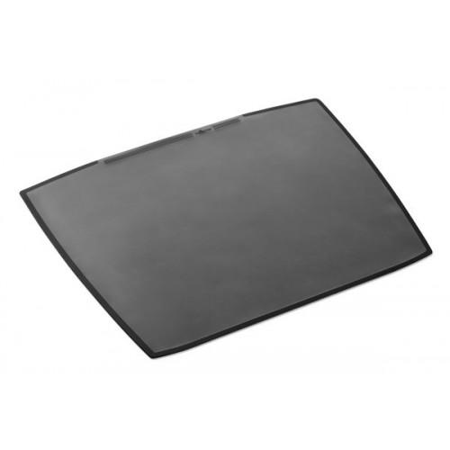 Настольное покрытие для стола Durable с прозрачным верхним слоем, 650 х 520 мм, черное, арт.D7201-01
