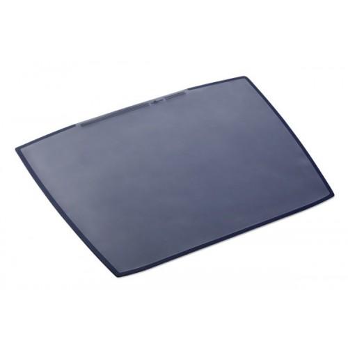 Настольное покрытие для стола Durable с прозрачным верхним слоем, 650 х 520 мм, темно-синее, арт.D7201-07