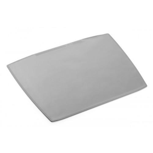Настольное покрытие для стола Durable с прозрачным верхним слоем, 650х52 мм, серое, арт.D7201-10