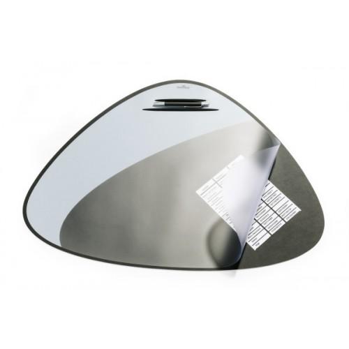 Настольное покрытие для стола Durable, округло-треугольная, 69х51 см, черная, арт.D7208-01