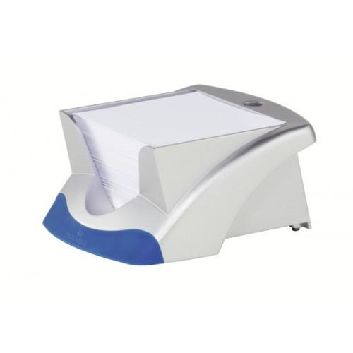 Подставка для бумажного блока Durable, 15,3х11, 6х7 см, серебристая, арт.D7714-23