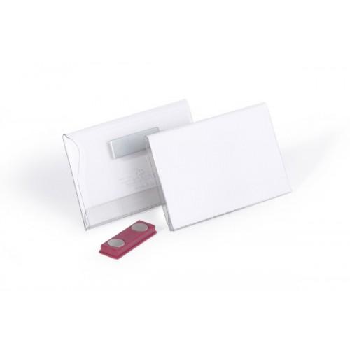 Бейдж для магнитных карточек Durable, 54х90 мм, арт.D8117-19