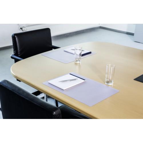 Настольное покрытие для стола Durable, 42х30 см, прозрачное, арт.D7111-19