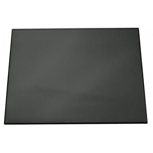 Настольное покрытие для стола Durable с прозрачным верхним слоем, 52x65 см, черное, арт.D7203-01