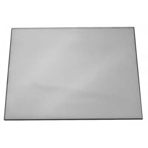 Настольное покрытие для стола Durable с прозрачным верхним слоем, 52x65 см, серое, арт.D7203-10