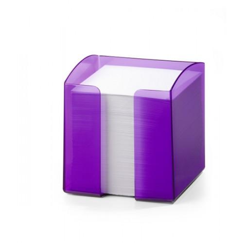Подставка для бумажного блока Durable Trend, прозрачная фиолетовая, арт.D1701682992