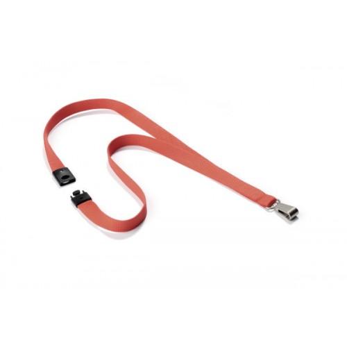 Текстильный шнур Durable Soft Colour, 15х440 мм, красный коралл, арт.D8127-136